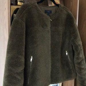 J.Crew Jackets & Coats - J.Crew teddy jacket